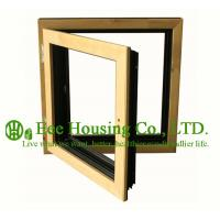 Wholesale Casement( Swing ) Type Wood Clad Aluminum Window with Insulating Double Glass For Villas from china suppliers