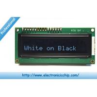 Wholesale White on Black 3.3V Character LCD Display ROHS , 16x2 LCD Display from china suppliers