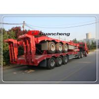 Wholesale Transport 50 Ton Low Bed Flatbed Equipment Trailers With Jost King Pin from china suppliers