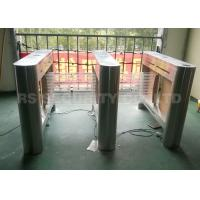 Quality Auto Turnstile Electronic Security System Barrier Swing Gate With CE Approved for sale