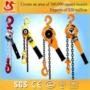High Quality Block Manual Chain hoist 5 ton chain block hoist chain