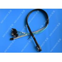 Wholesale 50cm SFF-8087 to 4x SATA - Internal Mini SAS to SATA Reverse Cable from china suppliers