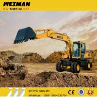 Wholesale Brand new SDLG 15ton digger , mini wheeled excavator LG6150E adopting VOLVO technology  for sale from china suppliers