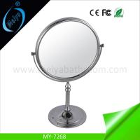 Wholesale desktop pocket makeup mirror, table double side cosmetic mirror from china suppliers