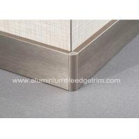 Wholesale Titanium Gold Aluminium Skirting Boards Perth / Bunnings For Wall Edge Protection from china suppliers