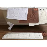 Wholesale Antibacterial Bathroom Foot Towel , Hotel Bath Mats OEM / ODM Available from china suppliers