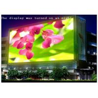 Quality IP65 Waterproof RGB Multi Color LED Panel Display , 10 Meters Min Viewing Distance LED Video Panel for sale
