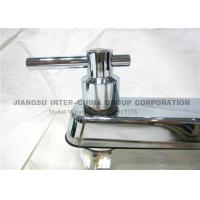 Quality Wall Mounted Pull Down Kitchen Sink Faucets , Polished Brass Bathroom Faucets for sale