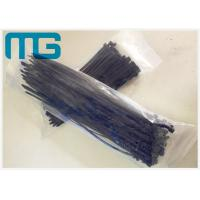 Wholesale Nylon 66 Reusable Self Lock Nylon Zip Ties , UV Resistant Black Cable Ties from china suppliers
