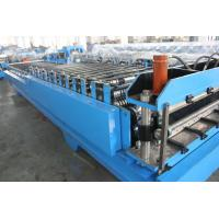 Wholesale Steel Tile Corrugated Roll Forming Machine By Chain / Gear from china suppliers