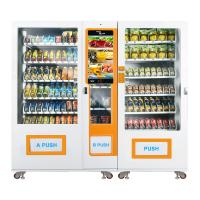 China Large Snack Food Vending Machines for sale Self Service With Refrigeration Unit R134a, Micron on sale
