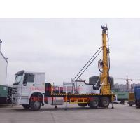 Wholesale Sinotruk Truck Mounted Water Well Drilling Rig , Cummins Engine Hydraulic Water Drilling Equipment from china suppliers