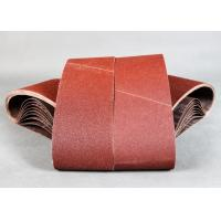 Quality 4 x 36 Aluminum Oxide Sanding Belts Resin For Long Belt Machine for sale