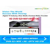 Wholesale High Definition IPTV Set Top Box DVB S2 H.264 MPEG4 For C / Ku Band Receving from china suppliers