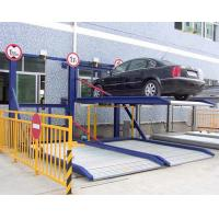 Wholesale For Sale! Two Columns Portable Car Parking System 2 Level Mechanical Parking Equipment from china suppliers