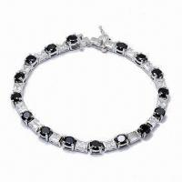 Wholesale Fashionable Bracelet, Made of Sterling Silver, Customized Designs are Accepted from china suppliers