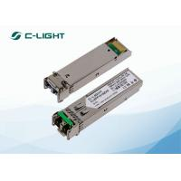 Wholesale LR-2 STM-1 155M SFP Fiber Optic Transceiver SMF 1550nm 80km Duplex LC from china suppliers