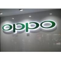 Wholesale Metal 3D LED Backlit Sign Letters , Business Lighted Signs For Store Front LOGO from china suppliers