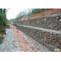 Wholesale Durable Galvanized Gabion Retaining Wall For Coast , Gabion Box from china suppliers