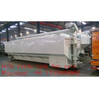 Wholesale 37m3 bulk feed tank mounted on cargo truck for sale, best price CLW poultry animal feed tank mounted on cargo truck from china suppliers