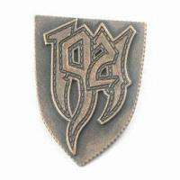 Wholesale Metal Badge, Eco-friendly, Rustles, Available in Various Designs, Colors, Shapes and Styles from china suppliers