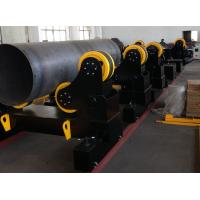 Wholesale 60 Ton Motorized Traveling Welding Turning Rolls For Pipe , Turning Speed 100~1000 mm/min from china suppliers