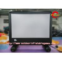Wholesale Projection Inflatable Movie Screen / Giant Inflatable Movie Screens For Advertising from china suppliers
