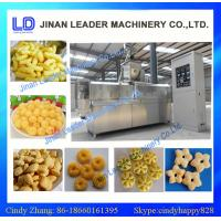 Wholesale automatic twin screw expanded snack food process line /  corn puffed snacks food from china suppliers