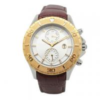 Wholesale Luxuty Ladies Gold Watches , Mechanical Watch Womens With Dual Time from china suppliers