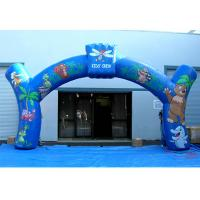 Wholesale 0.4mm PVC Tarpaulin Advertising Inflatable Arch Nice Animal Printing  For Promotion from china suppliers