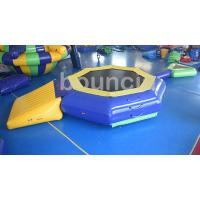 Wholesale 0.9mm PVC Tarpaulin Inflatable Water Trampoline With Beam For Pool from china suppliers