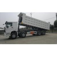 Wholesale White Heavy Duty Commercial Trucks , Large Dump Truck 30 Ton 8x4 from china suppliers