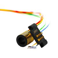 Wholesale Aviation Electric Slip Ring Collector 10 Circuits 100rpm Continuous Speed from china suppliers