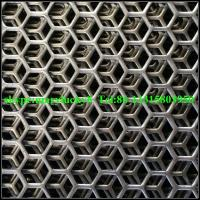 Wholesale hexagonal perforated wire mesh/perforated metal mesh/Hexagonal perforated metal from china suppliers