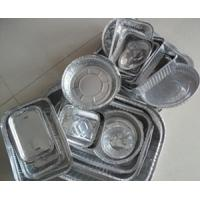 Wholesale Thin Disposable aluminium foil food containers Double Bright Side from china suppliers