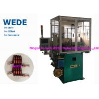 China Max 4mm Round Wire Coil Winding Machine With 3 Axis Servo Motor Flat Wire on sale