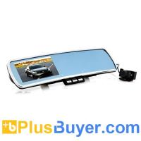 Wholesale 4.3 Inch Car Rear View Mirror with Dash Cam, Parking Camera from china suppliers