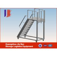 Wholesale 4 Step Metal Steel Climbing Collapsible Step Ladder For Supermarket from china suppliers