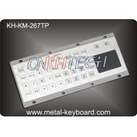 Wholesale Industrial Metal Panel Mount Keyboard with Touch pad , Ruggedized Keyboard from china suppliers