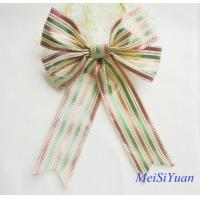 Wholesale Custom 12 Inch Luxury Large Christmas Ribbon Bows for  tree decorating from china suppliers