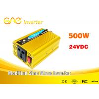 Wholesale Dc to ac high frequency modified sine wave 24v inverter 500w 220v inverter from china suppliers
