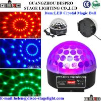 Wholesale 3W DMX Magic Crystal Ball Light Wedding Stage LED Beam Light Electronic Dimming from china suppliers