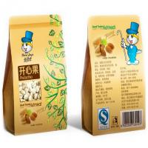 Wholesale ziplock stand up printed brown kraft paper bag , food bag storage from china suppliers