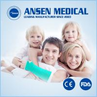 China Ansen Waterproof  Fiberglass Casting Tape Perfect Substitution of Plaster Bandage on sale