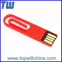 Wholesale Office Hot Product Paper Clip 16 GB Pen Drive Storage Memory Drive from china suppliers