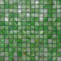 Wholesale Green Blue Pink Pearl Sea Shell Mosaic Tile / Wall Tiles For Bathroom from china suppliers