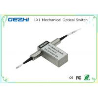 Wholesale Micro 1x1 Mechanical Optical Switches 850nm or 1260~1650nm configurable OADM from china suppliers