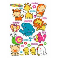 Wholesale Cute Animals Childrens Wall Glitter Stickers 8319  from china suppliers