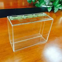 Wholesale Manufacturing customized acrylic display box acrylic box from china suppliers