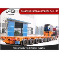 Wholesale 16 Axles 8 Line Hydraulic Modular Heavy Equipment Trailers Large Generator Transport from china suppliers